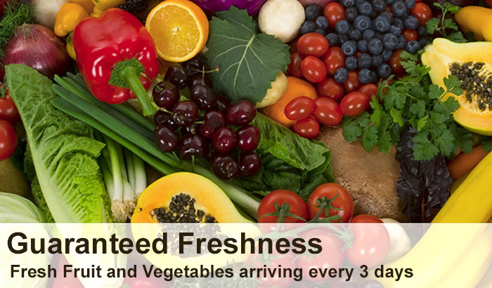 Fresh Fruit and Vegetables